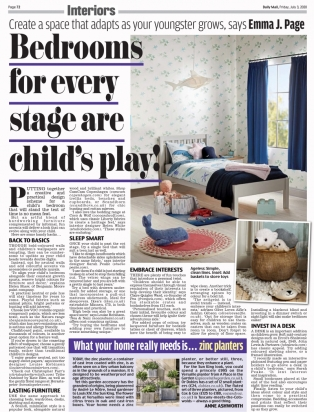 Bedrooms for every stage is child's play